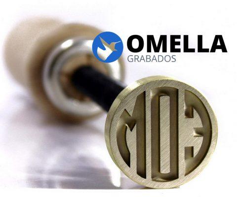 Metal Stamp for Glassblowing